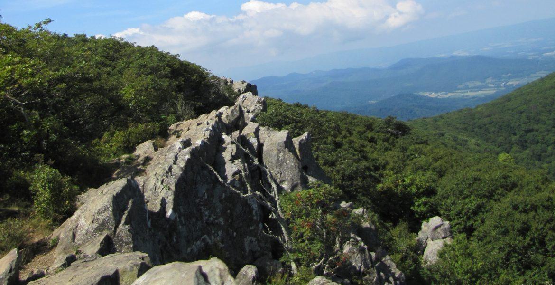 hawksbill summit Shenandoah NP